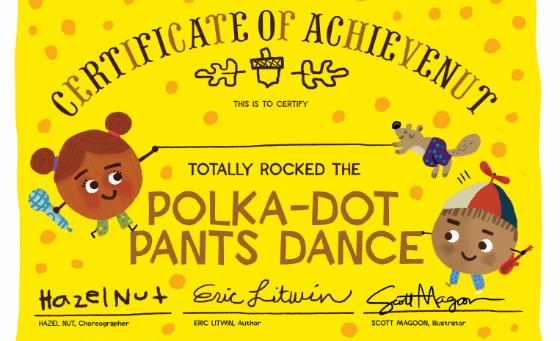 polka dot pants dance