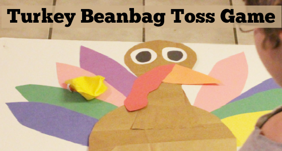 Turkey Beanbag Toss