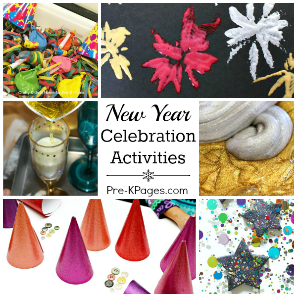 Celebrate the New Year with Preschoolers