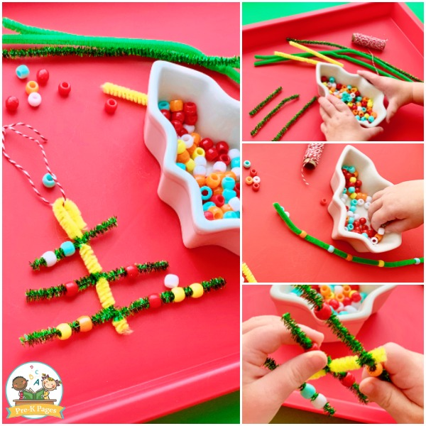 Christmas Tree Ornament Toddlers Can Make