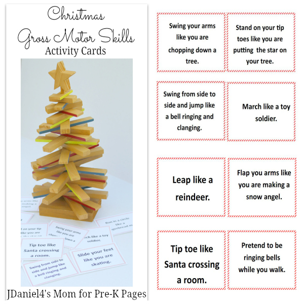 Gross Motor Skills Christmas Activity