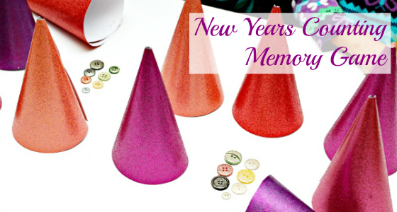New Years Counting Memory Game