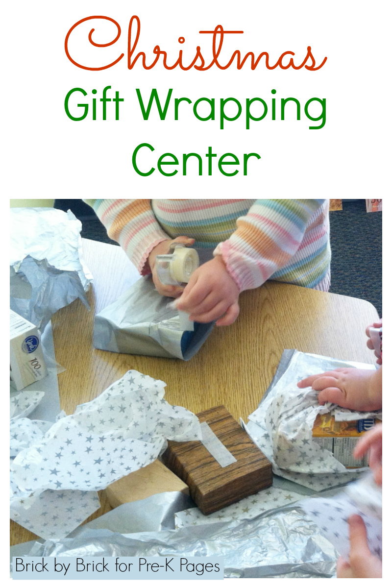 christmas gift wrap center