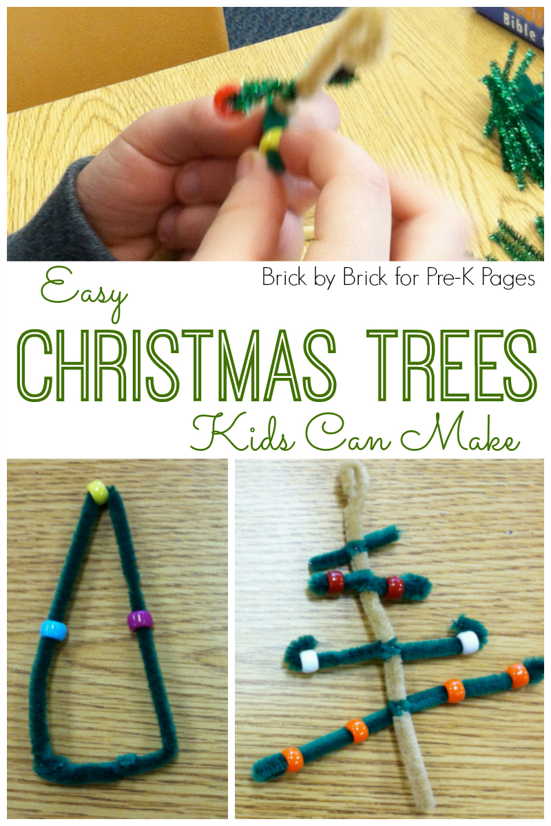 christmas tree ornaments for preschool
