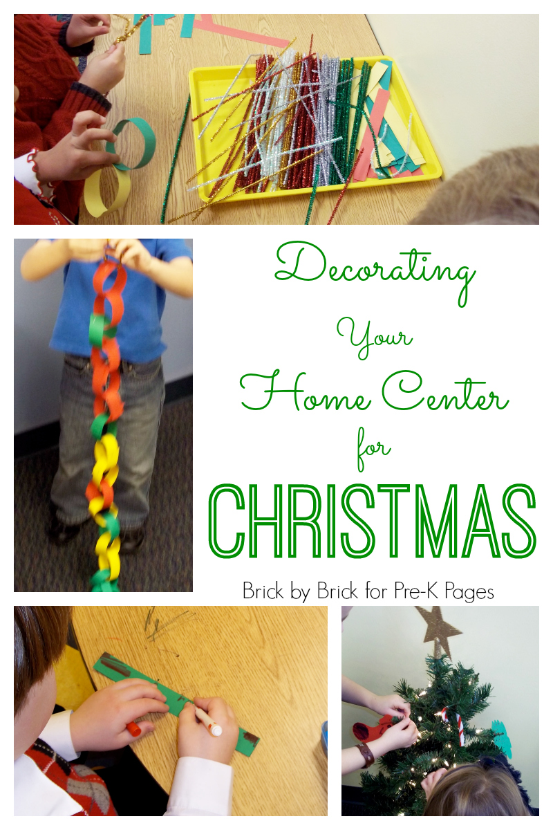 decorate home center christmas