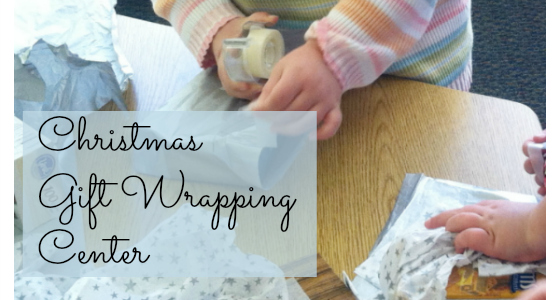 Christmas Gift Wrapping Center