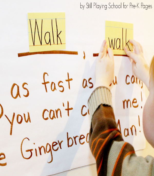 gingerbread man game for preschool