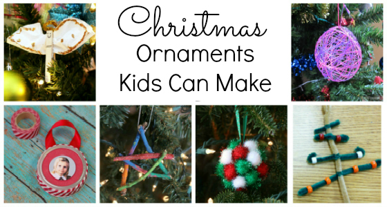 20+ Easy Christmas Ornaments Preschoolers Can Make