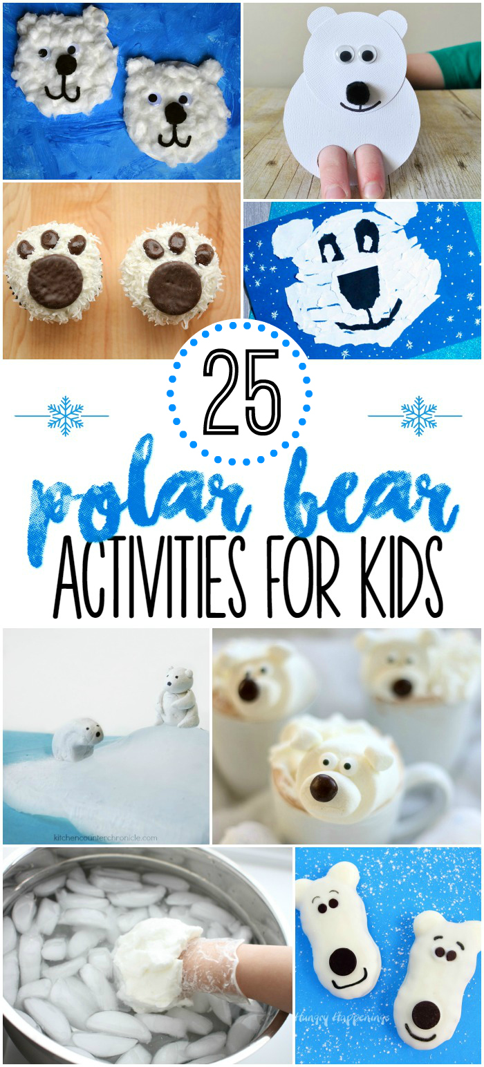 25 Polar Bear Activities for Kids