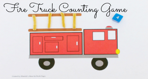 Fire Truck Counting Numbers