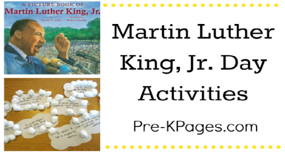 Martin Luther King, Jr. Day Ideas