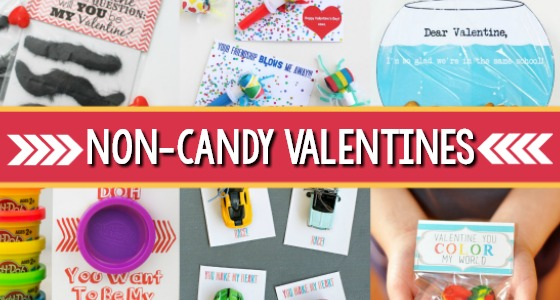 Non Candy Valentines for Kids