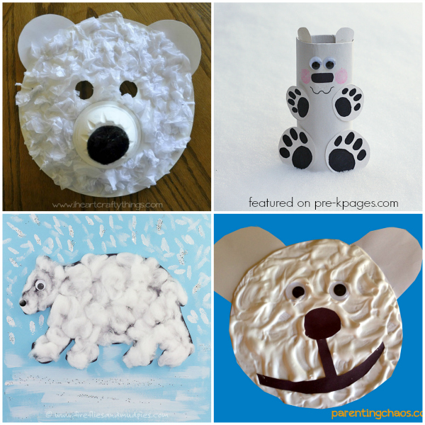 Preschool Polar Bear Craft Ideas