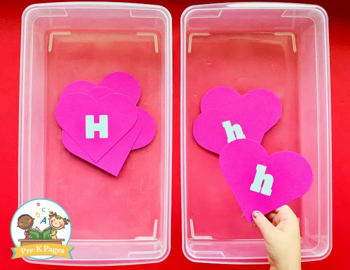 Valentine Heart Relay Race