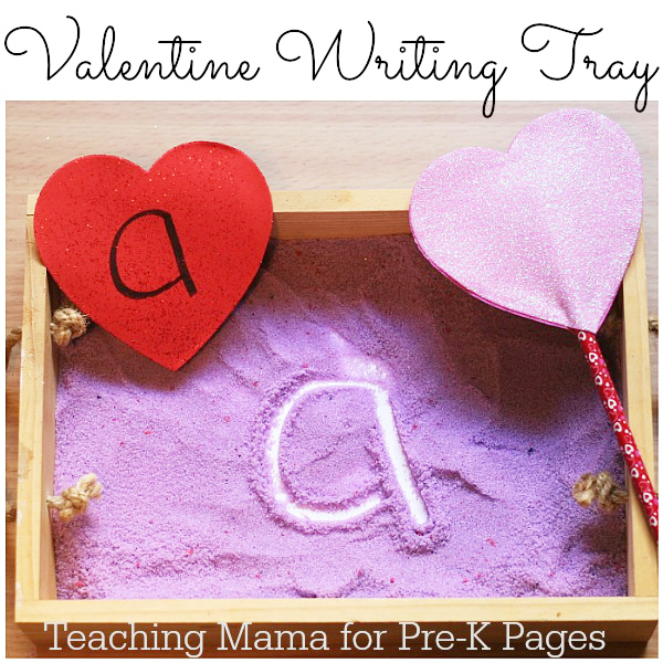 Valentine Writing Tray