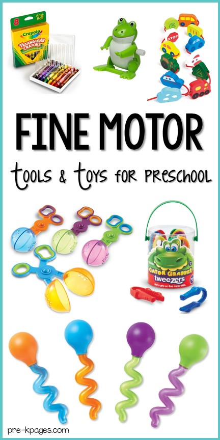 Best Fine Motor Tools and Toys for Preschool