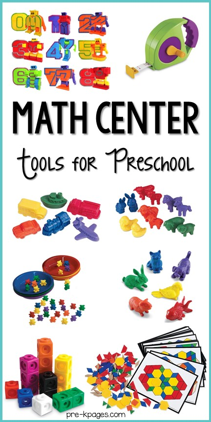 Best Math Center Tools and Toys for Preschool