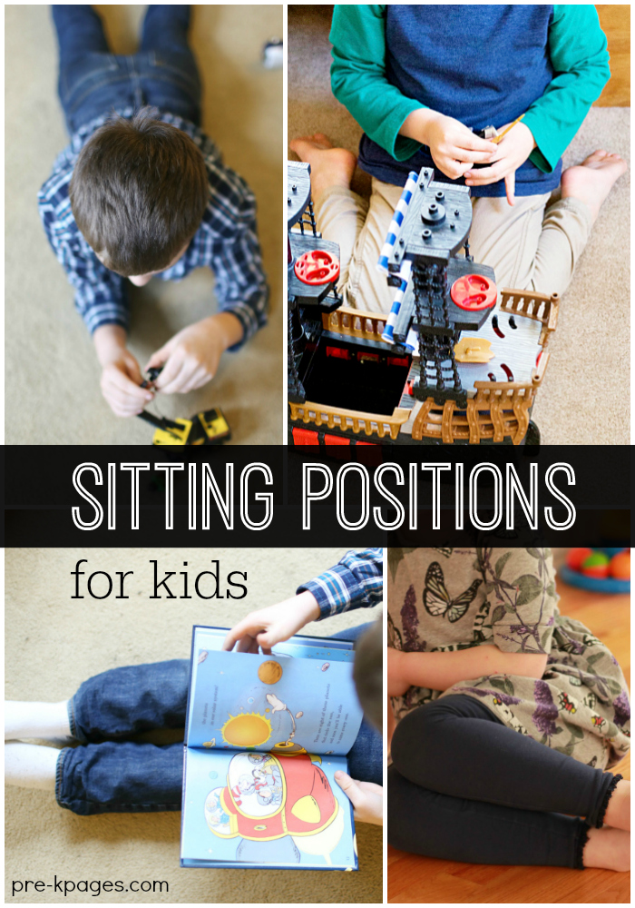Different Sitting Positions for Kids