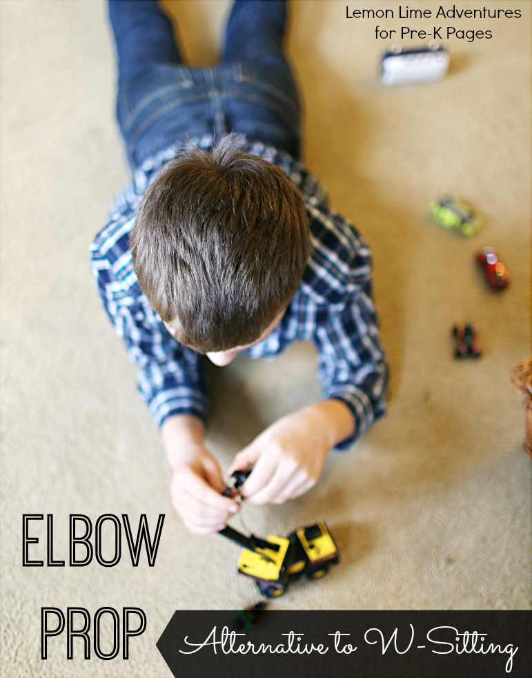 Elbow Prop Sitting Position for Kids
