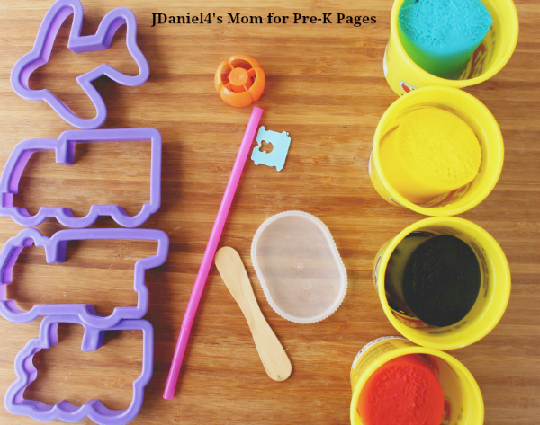 transportation play dough tool kit