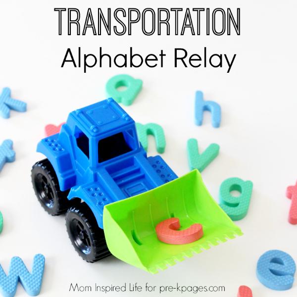 Transportation Alphabet Relay