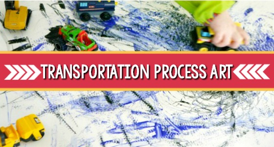 Transportation Process Art Activity For Preschool