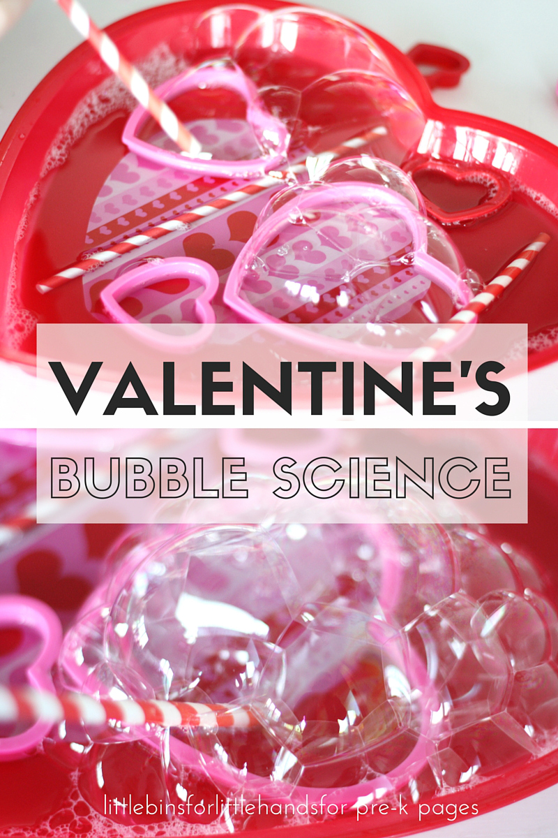 bubbles with heart shaped bubble wands