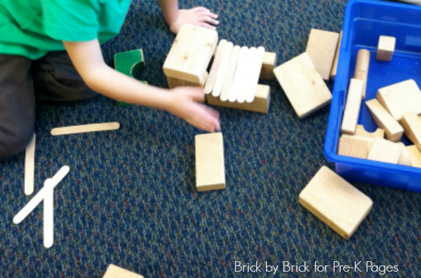 blocks craft sticks preschool