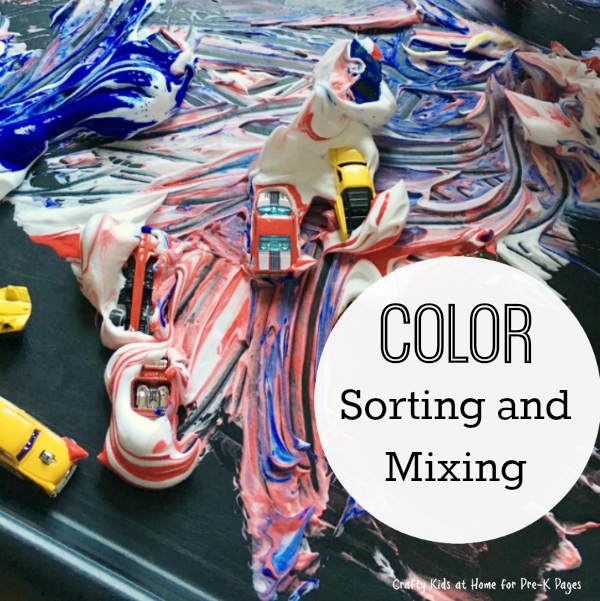 color sorting and mixing transportation
