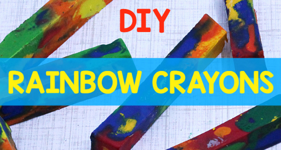DIY Melted Crayons for Preschool