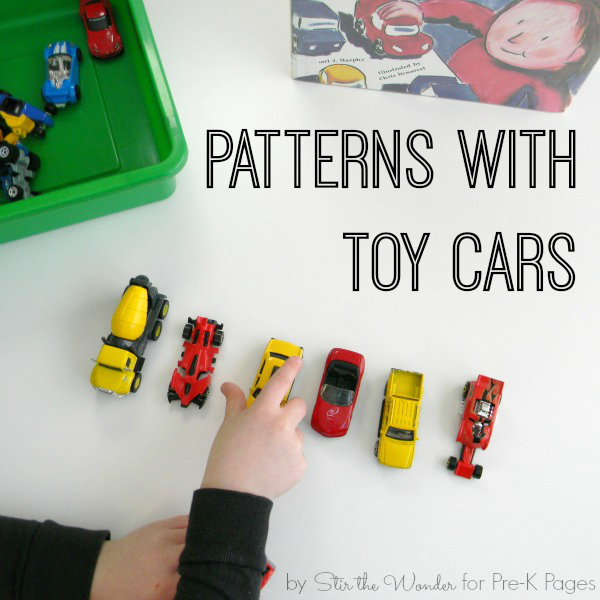 patterns with toy cars