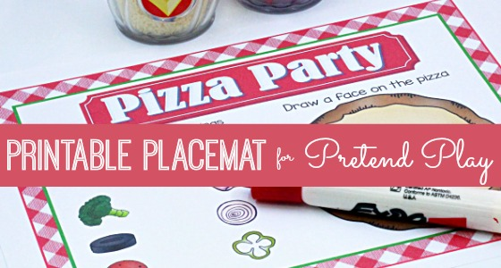Pizza Restaurant Printable Placemat