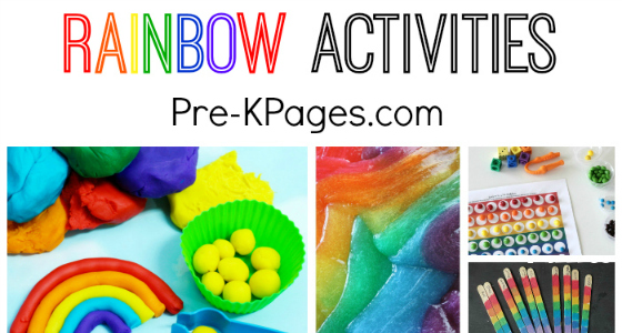 30+ Super Fun Rainbow Activities For Preschool