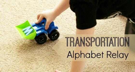 Transportation Alphabet Relay