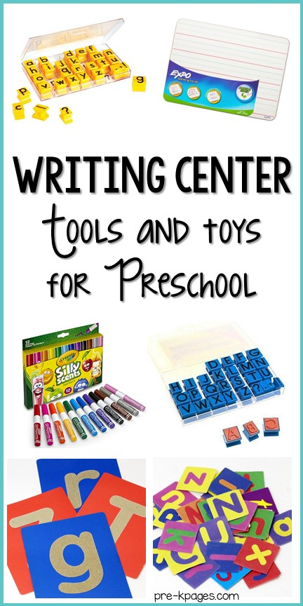 Best Writing Center Supplies for Preschool