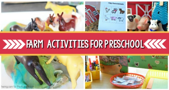 35+ Farm Activities for Preschoolers