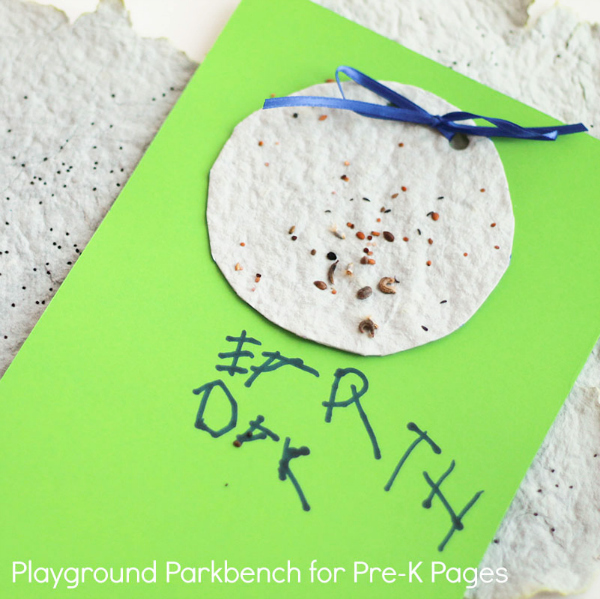 Earth Day for Kids Make Homemade Seed Paper