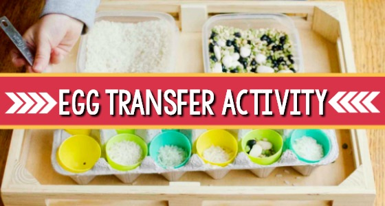 Easter Transfer Activity