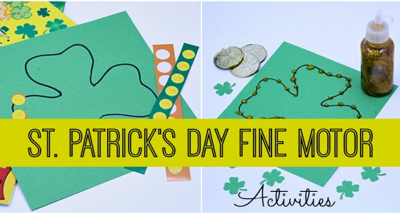 Fine Motor Activities for St. Patrick's Day
