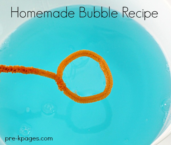 Homemade Bubble Recipe