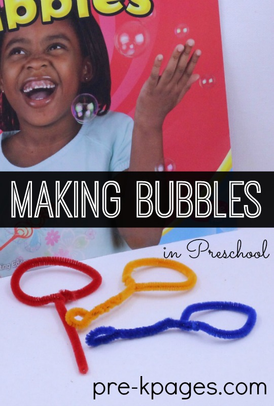 ad2d3adc8 Science for Kids: Bubble Experiment - Pre-K Pages