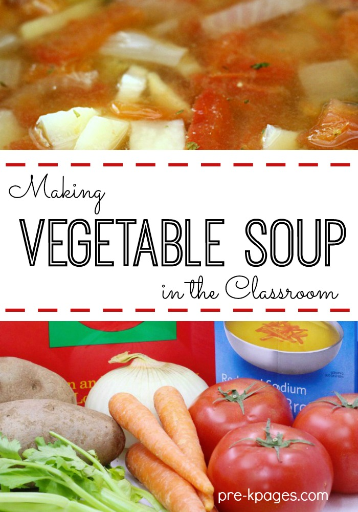 How to Make Vegetable Soup in the Classroom