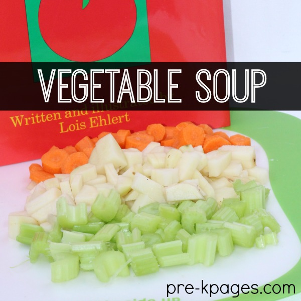 How to Make Vegetable Soup with Preschoolers