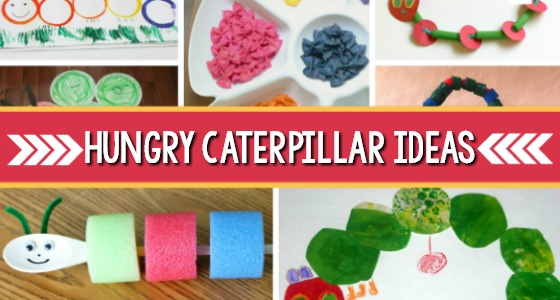 25 Activities for The Very Hungry Caterpillar