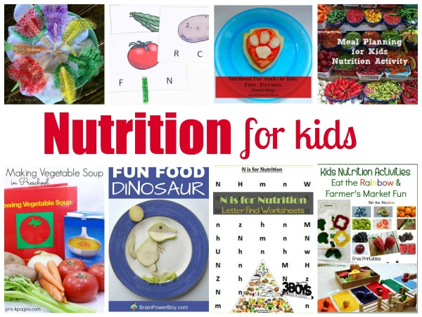 Nutrition Lesson for Preschoolers