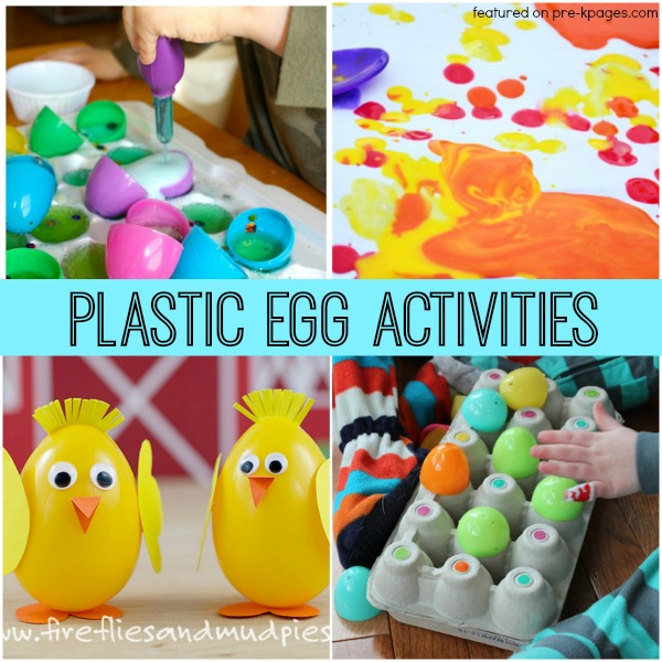 Plastic Easter Egg Activities for Kids