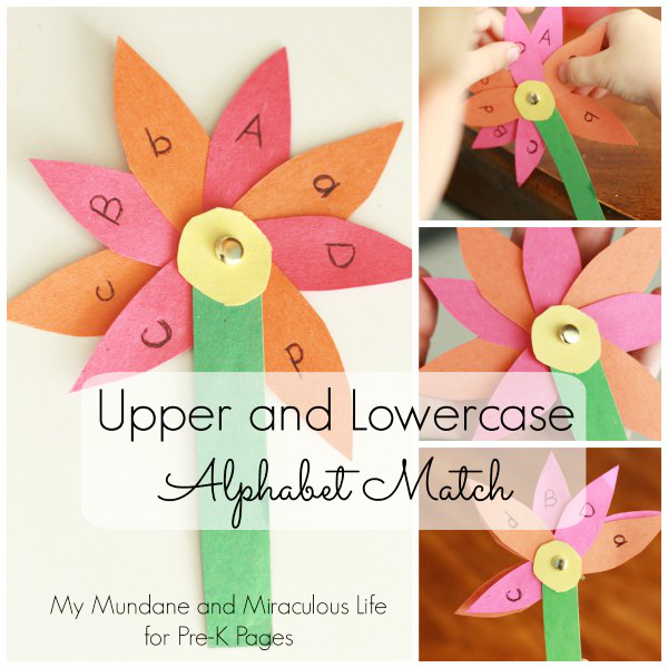 uppercase lowercase letter match spring