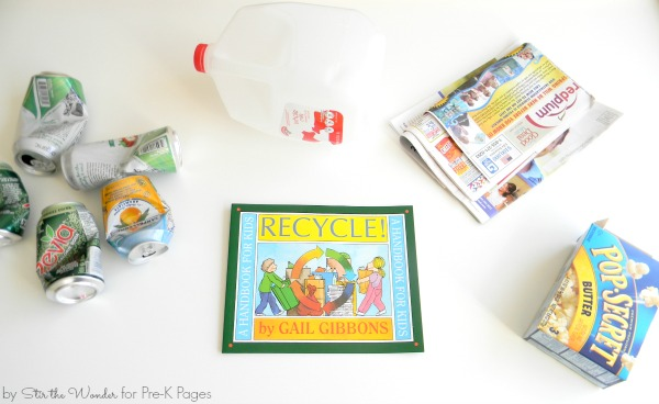 Teaching Preschoolers About Recycling Pre K Pages