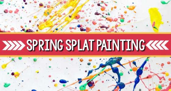 Spring Splat Art