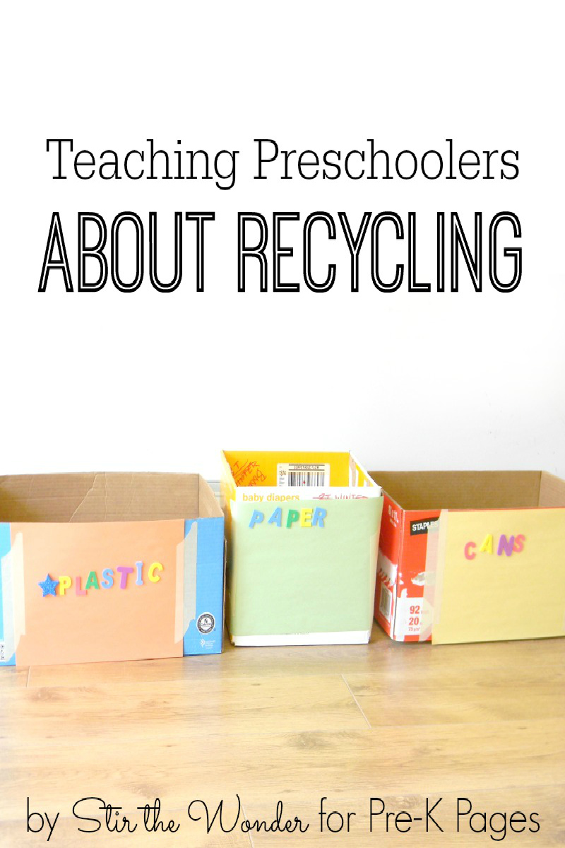 Teaching Preschoolers about Recycling